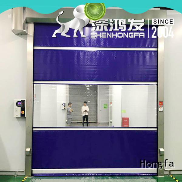 Hongfa roll up door in china for supermarket