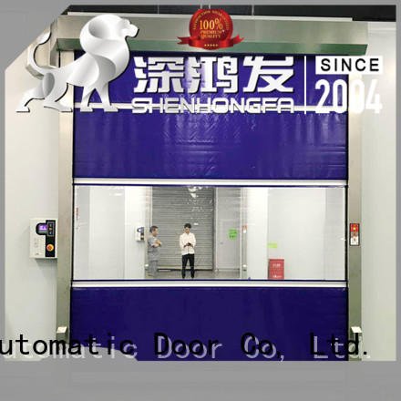 performance roll up door interior for factory Hongfa