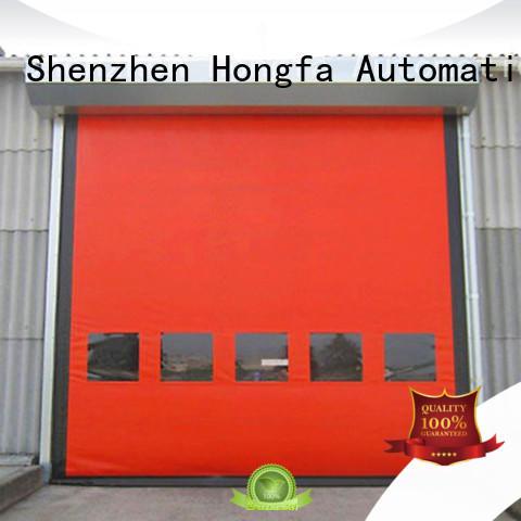 automatic roller shutter doors marketing for warehousing Hongfa