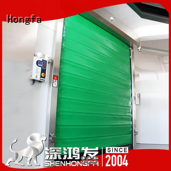 Hongfa storage fast door marketing for supermarket