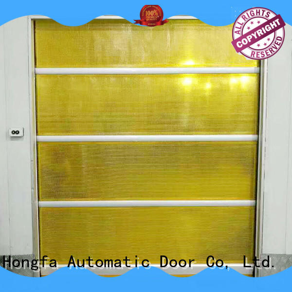 PVC fast door clear newly for warehousing