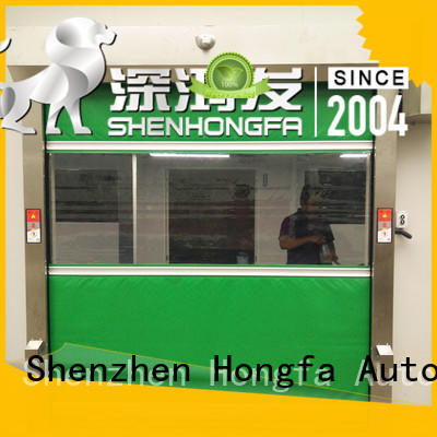 high-tech high speed shutter door automatic supplier for food chemistry textile electronics supemarket refrigeration logistics