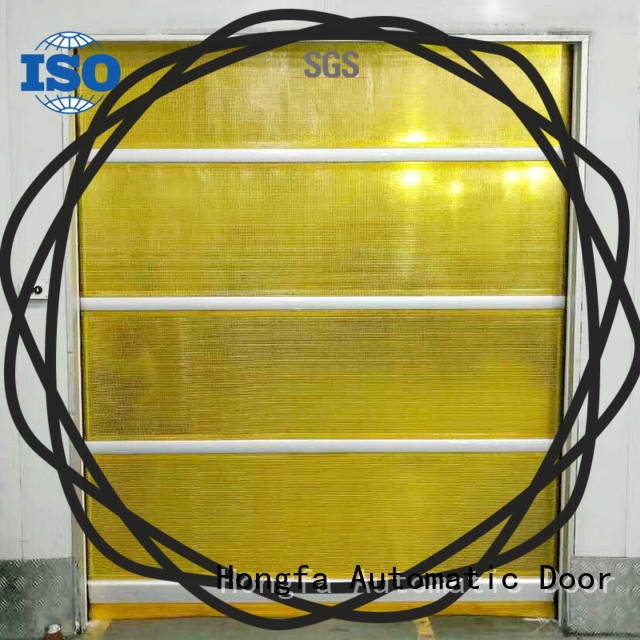 Fast /quick action pvc interior roll up door