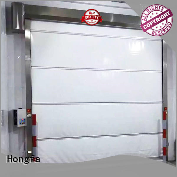 high-speed small roll up doors widely-use for storage Hongfa