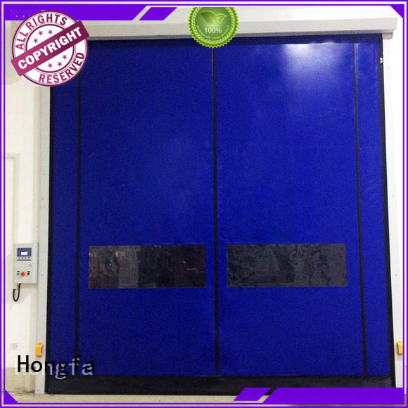 Hongfa high-quality self repairing high speed doors speed for supermarket