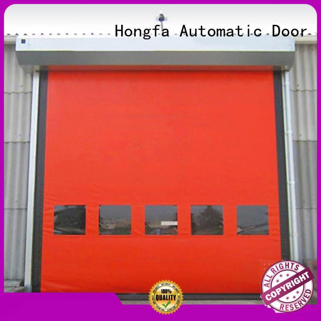 Hongfa speed zipper door type for warehousing