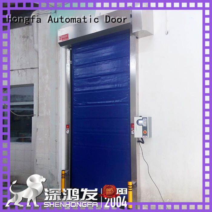 Hongfa high-tech cold storage doors for-sale for warehousing