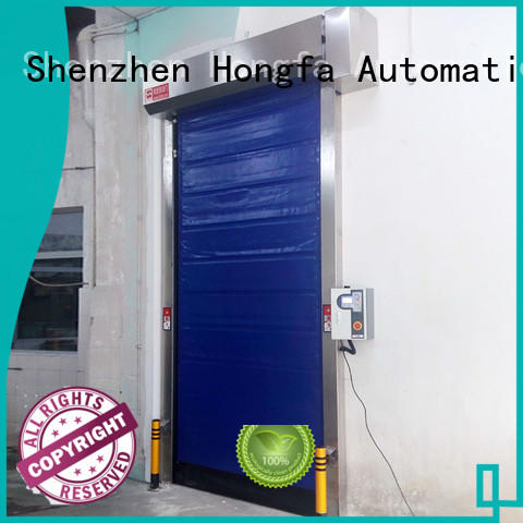 Hongfa fast cold storage door effectively for food chemistry