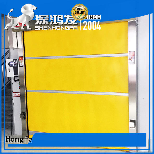 door pvc high speed door factory price for supermarket Hongfa