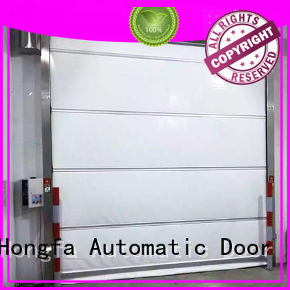 Hongfa automatic PVC fast door supplier for warehousing