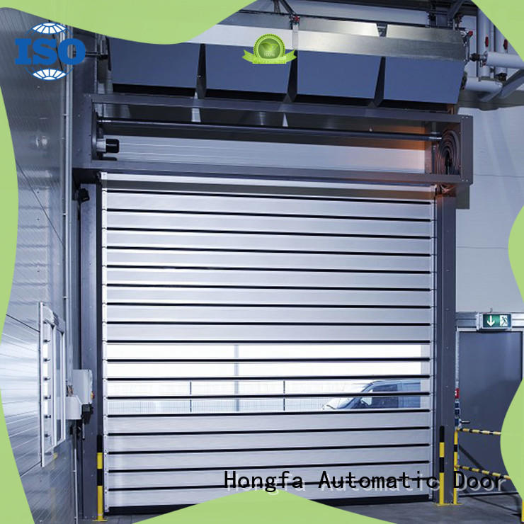 industrial high speed spiral door buy now for factory Hongfa