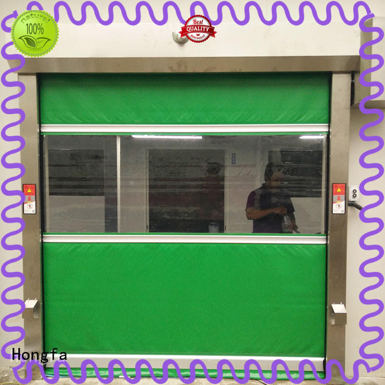 Hongfa quick rapid roll up door widely-use for storage