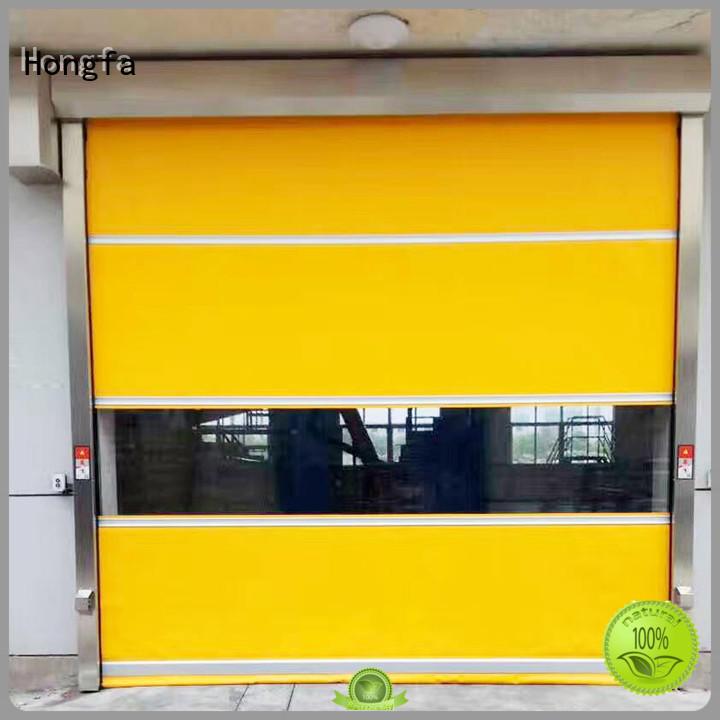 Hongfa Brand oem automatic custom industrial roller doors