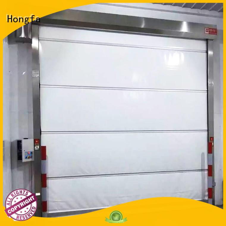 Hongfa high-speed rapid roll up door supplier for supermarket