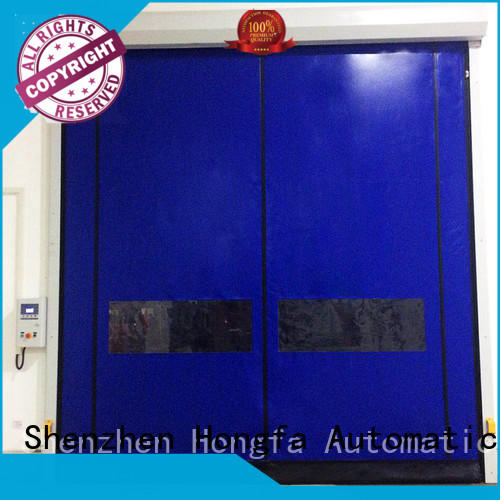Hongfa hot-sale zipper door effectively for cold storage room