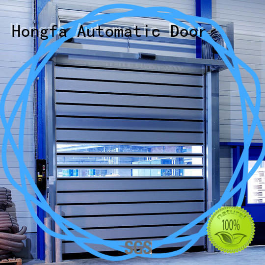 Hongfa automatic high speed spiral door for wholesale for cold room