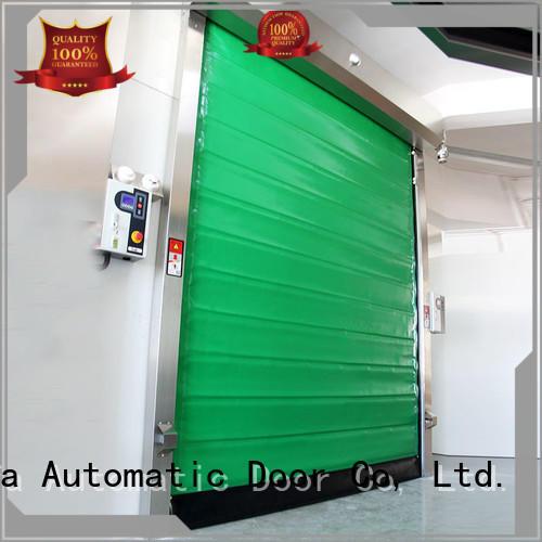 Hongfa safe insulated pu foam door application for warehousing