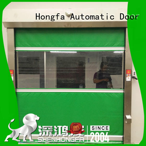 custom industrial automatic roll up doors rapid in different color for factory