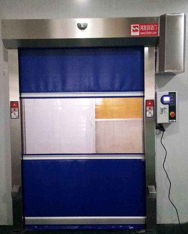 efficient rapid roll up door room factory price for supermarket-3