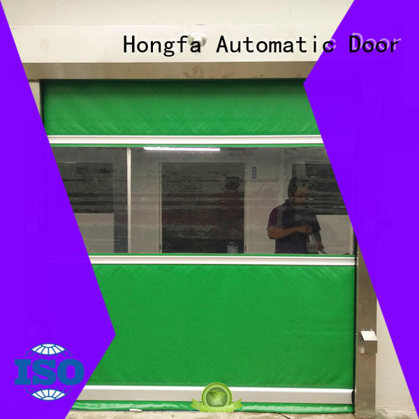 efficient roll up door performance overseas market for factory