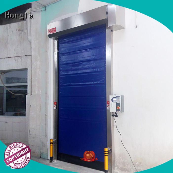 Hongfa high-speed high speed roll up freezer doors experts for warehousing