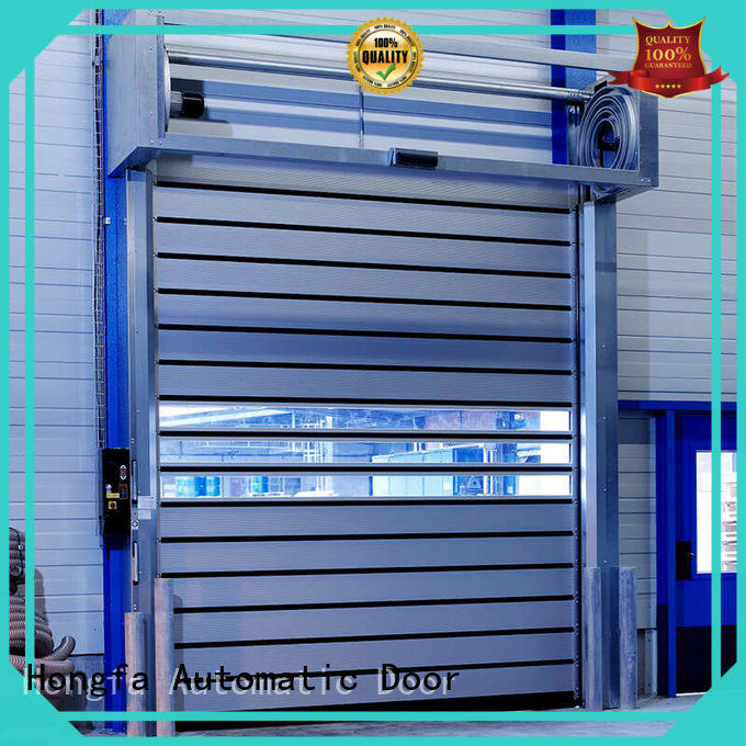 industrial spiral fast door shop now for factory Hongfa