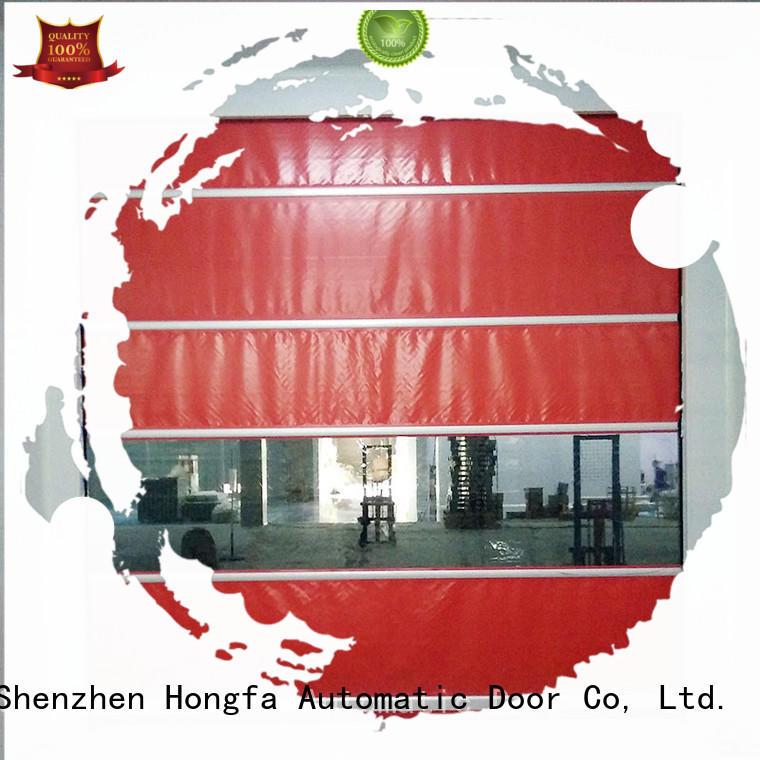 rapid roll up door rolling for warehousing Hongfa