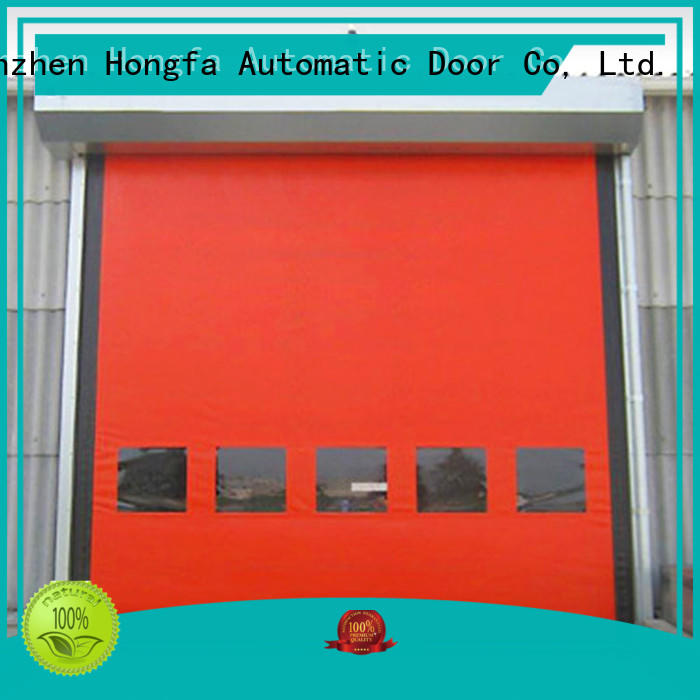 perfect after-sale custom roll up doors autorecovery owner for supermarket