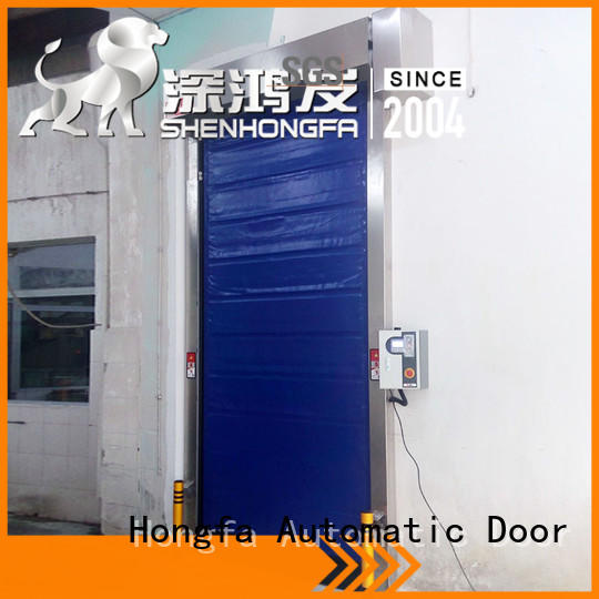 high-speed cold storage doors manufacturer application popular for warehousing