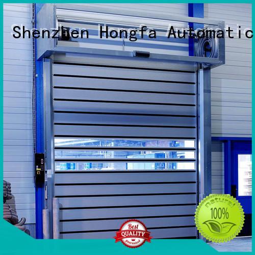 Hongfa speed security door in different color for industrial warehouse