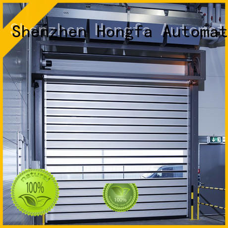Hongfa speed security door from china for industrial warehouse