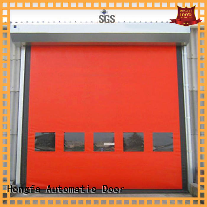 autorecovery custom roll up doors popular for warehousing