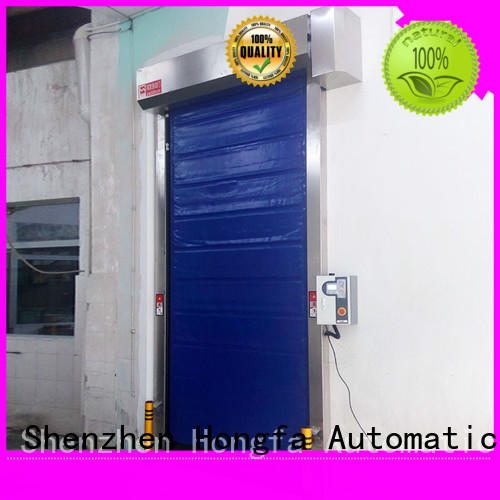 Hongfa application fast door experts for warehousing