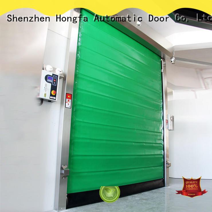 Hongfa automatic fast door marketing for warehousing