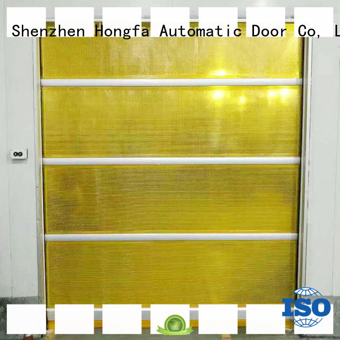 professional pvc high speed door action overseas market for supermarket
