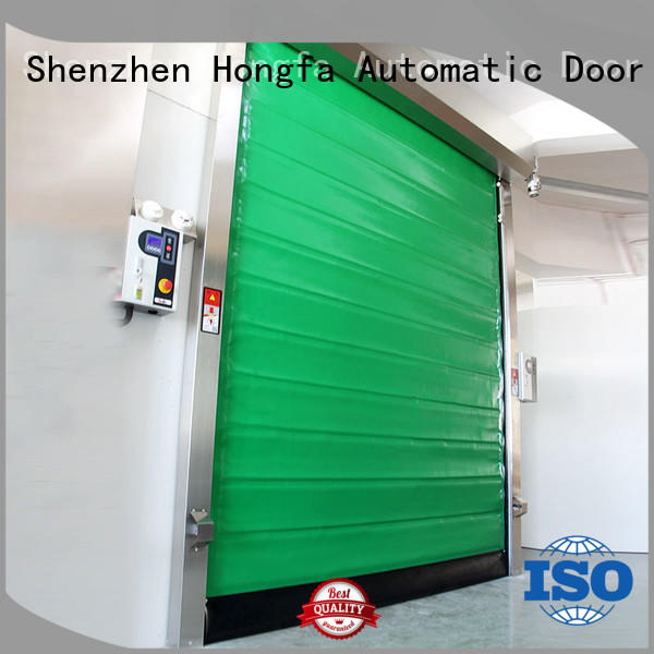 Hongfa professional cold storage doors effectively for supermarket