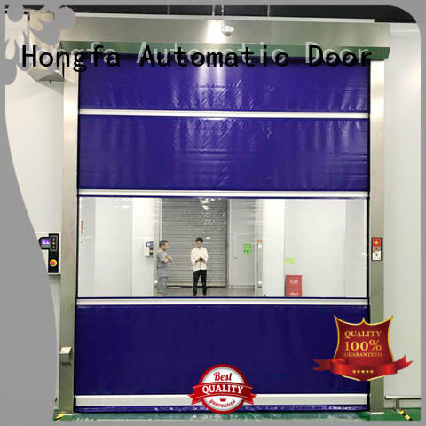 Hongfa flexible high speed roll up doors in china for supermarket