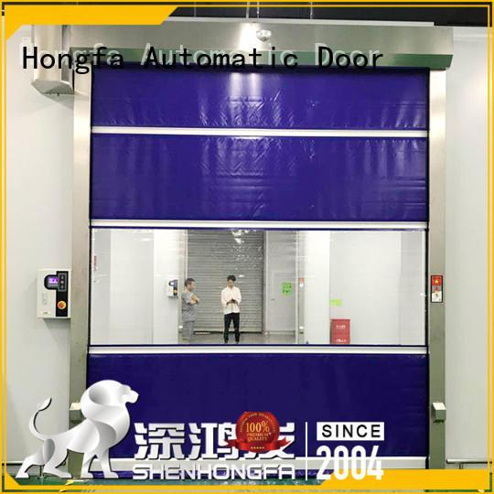 High performance fast flexible roll up door