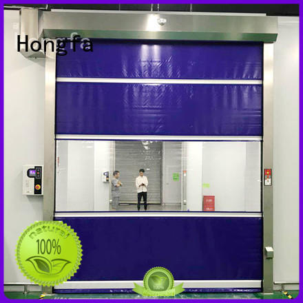 Hongfa PVC fast door in china for factory