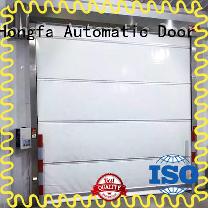 Hongfa automatic rapid roll up door marketing for factory