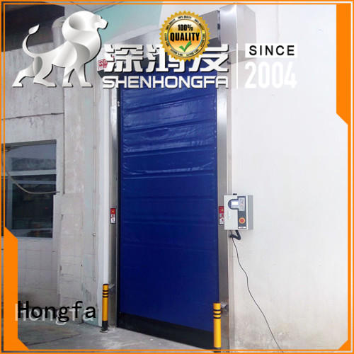 high-speed cold storage doors manufacturer pu overseas market for food chemistry