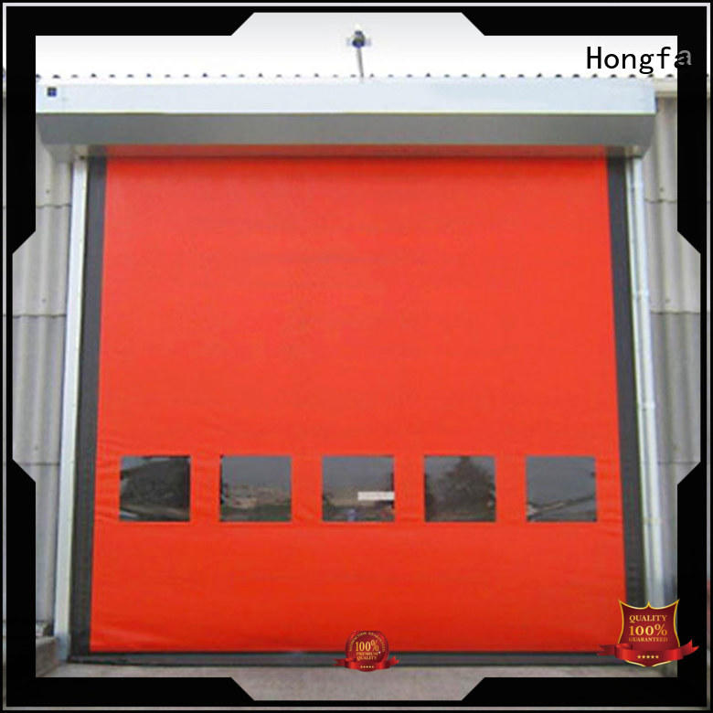 Hongfa autorecovery custom roll up doors owner for food chemistry