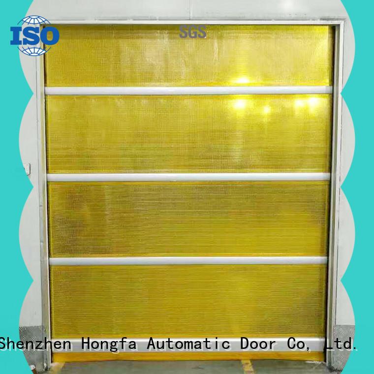 high-speed high speed shutter door fabric marketing for warehousing