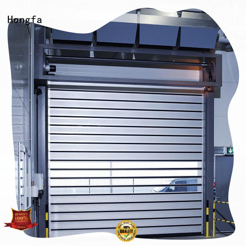 Hongfa high-quality spiral fast door types for cold room