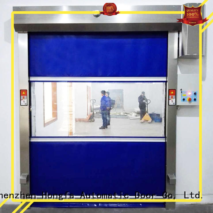 performance pvc high speed door room for storage Hongfa
