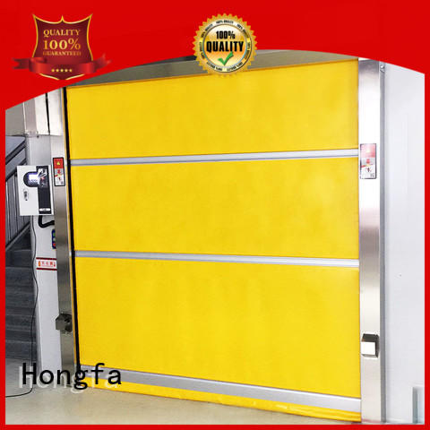 Hongfa perfect fabric roll up doors newly for warehousing