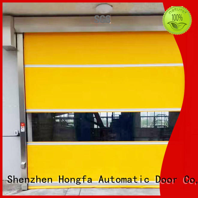 rolling insulated roll up door marketing for storage Hongfa