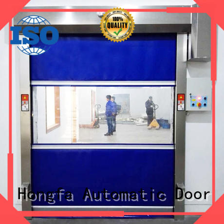 Hongfa curtain fabric roll up doors widely-use for factory