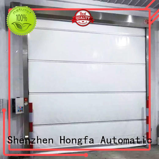 high-tech roll up high speed door roll marketing for supermarket