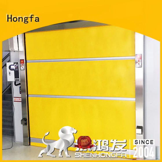 high-speed small roll up doors in different color for factory Hongfa
